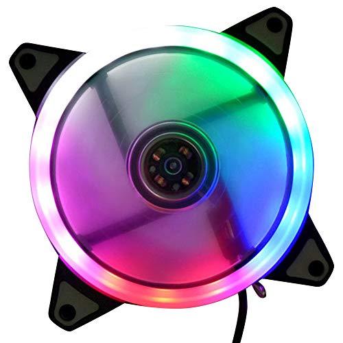 fter 12V 4Pin bis 3Pin RGB Leiser Computer PC CPU Kühler ()