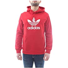 felpa adidas uomo rossa xl  : felpa adidas uomo - Rosso