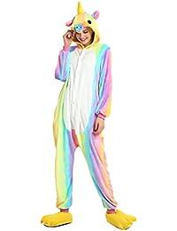 Kigurumi - Youson Girl® Pyjama Licorne Adulte Kigurumi Combinaison Animaux Unicorn Costume Cosplay Deguisement Combinaison Pijama