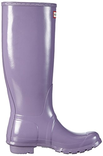Hunter  Original Tall Gloss, Bottes femme Violet - Violett (Thundercloud)