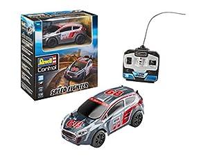Revell Control-RC Rallye Car Speed Fighter Coche de Control Remoto, Color Plata (24471)