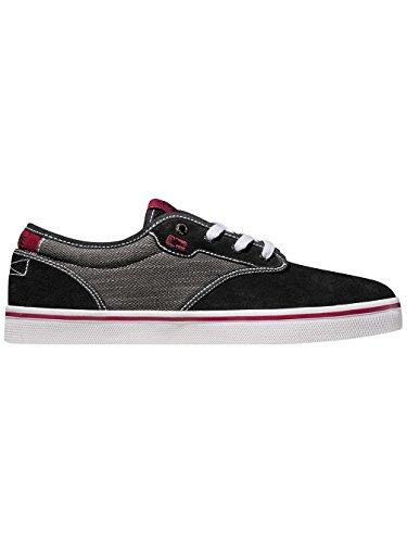 Globe Motley, Scarpe da Skateboard Unisex Adulto black/dark red