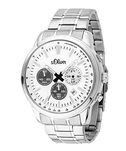 s.Oliver SO-3691-MC Montre chronographe pour Homme