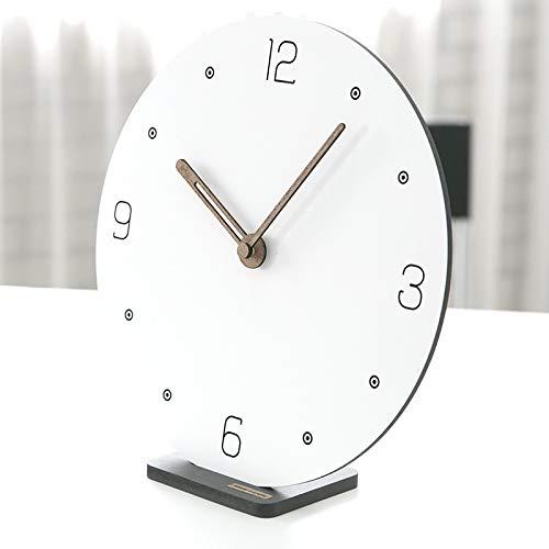 Clock Home Modernen Minimalistischen Uhr Nordic Wohnzimmer Kreative Schlafzimmer Desktop Stumm Wanduhr Runden Shop 12 Zoll E Abschnitt -
