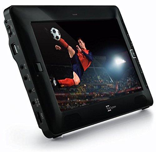 TELE System TS09 TV Portatile da 9 pollici, DVB-T/T2, USB, Micro SD Card, 16:9, Nero