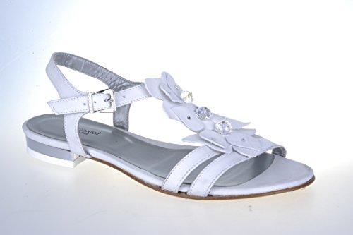 Nero Giardini Sandalo Donna in Pelle P106231D Softy Bianco
