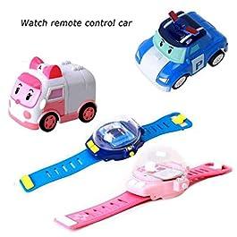 bloatboy Mini Cartoon Auto Watch, Telecomando Cartoon Veicolo gravità induzione Giocattolo per Bambini 6 Anni e più