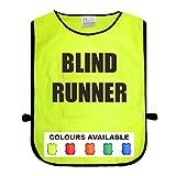 Best None Blinds - Hi Viz Vis BLIND RUNNER Printed Tabard Safety Review
