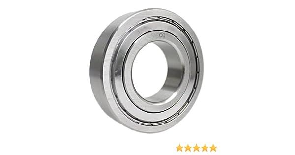 6204 ZZ//6204z Kugellager 20x47x14 mm Industriequalit/ät DIN625-1 mit G10-Pr/äzisionskugeln//Innendurchmesser 20mm