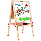 Best Easels - BATTOP Two-sided Height Adjustable Drawing Easel Folding Blackboard Review