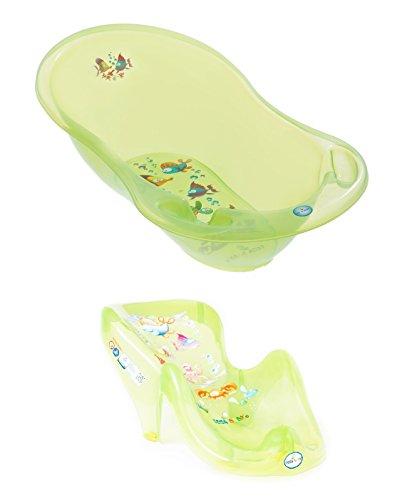 2c3217910fba9 Set de bain Aqua Transparent Vert ensemble indispensables pour le bébé  enfant nouveau-née baignoire