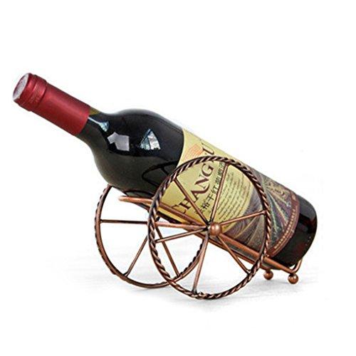 GOTTING Handmade Plating Weinregale Home Küche Bar Zubehör Praktische Weinhalter Wein-Flaschen-Dekor-Display - Dekor Home Und Zubehör Bar