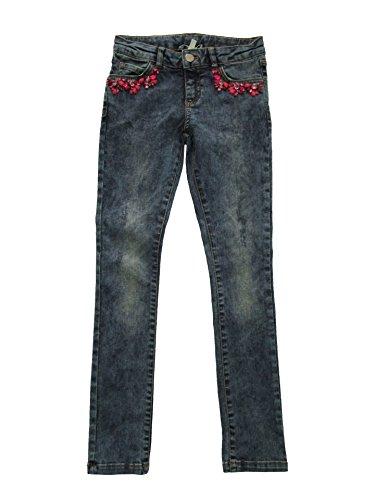 Jeans Bambina TWIN SET GA62F6 Autunno Inverno 2016 Denim 8A