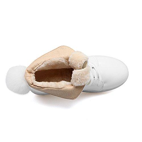 BalaMasa - Scarpe con plateau donna White