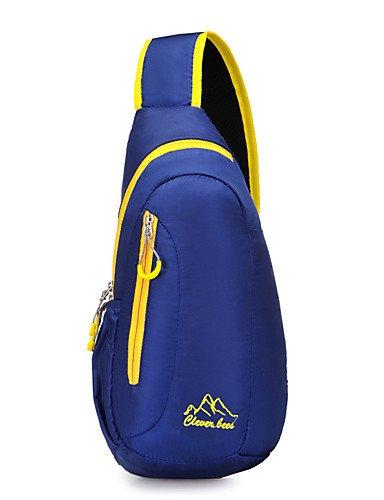 ZQ n/a L Umhängetasche Legere Sport / Reisen / Laufen Draußen / Leistung Wasserdicht / Multifunktions andere Nylon N/A Blue