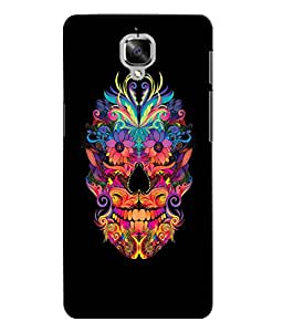 Citydreamz Skull/Skeleton/Horror/Dark/Fear/Scary/Ghost/Monster Hard Polycarbonate Designer Back Case Cover For OnePlus 3