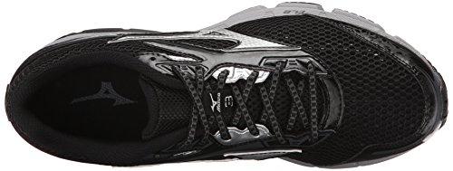 Mizuno Wave Legend 3 Synthétique Chaussure de Course Black-Grey