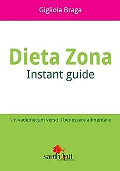 Dieta Zona. Instant Guide: Un vademecum verso il benessere alimentare di [Braga, Gigliola]