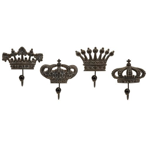 imax-regents-crown-hooks-set-of-4-by-imax