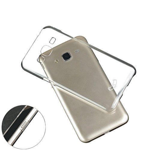 Enthopia Ultra Thin Uncrackable Transparent Flexible HARD BACK CASE Cover for Samsung Galaxy On5  available at amazon for Rs.95