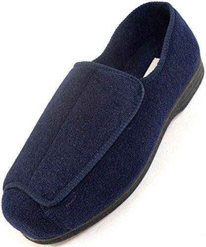 Zapatos ortopédicos para hombre con amplitud EEE