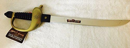 Piraten der Karibik, Jack Sparrow Schwert Spielzeug mit Ton ()