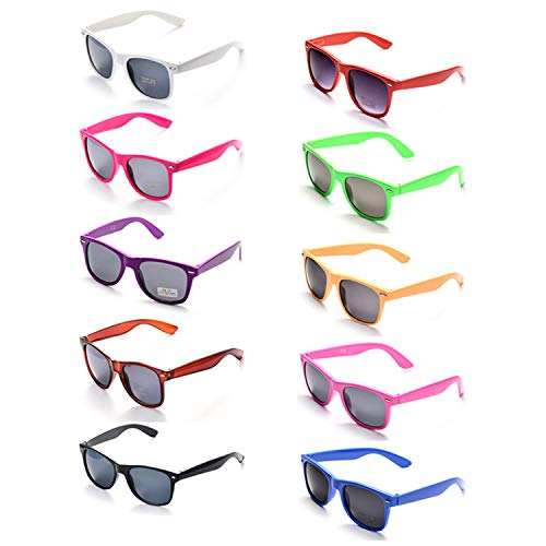 ONNEA 10 Paare Party Favors Sonnenbrille Set Sommer Kinder Damen (Mischen 10-Pack)