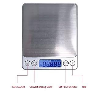 Apgstore 500g /0,01g Digitale Küchenwaage Feinwaage Taschenwaage