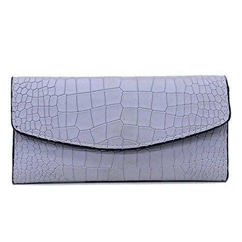 HT  Ladies Evening Handbags, Damen Clutch Blau