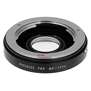 Fotodiox Bague d'adaptation Minolta MD/MC Pro Rokkor pour appareil photo Sony Alpha