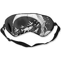 Eye Mask Eyeshade Astronaut Fish Sleep Mask Blindfold Eyepatch Adjustable Head Strap preisvergleich bei billige-tabletten.eu