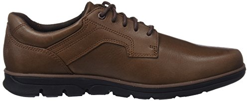 Timberland Bradstreet Padded Collar Sensorflex, Scarpe Stringate Oxford Uomo Marrone (Potting Soil Escape 931)