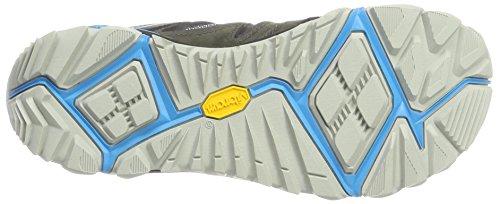 Merrell Blaze 2 Mid Gtx, Stivali da Escursionismo Grigio (Turbulence/cyan)