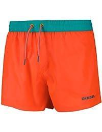 """Shorts de baño DIESEL para hombre, nadador """"BMBX-Sandy"""", colores lisos con inserción de malla"""