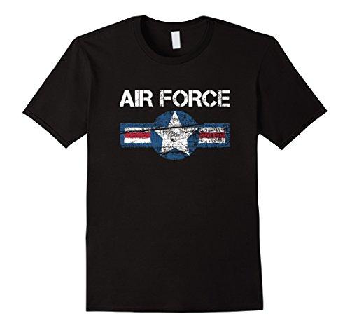tee-vision-vintage-us-air-force-t-shirt-herren-grosse-l-schwarz