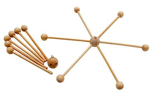 Mobile croix, 6 branches, env. 30 cm