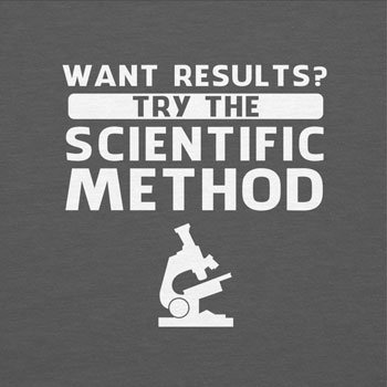 TEXLAB - Try the scientific method - Herren T-Shirt Grau