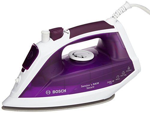 Bosch TDA1024110 Dampfbügeleisen (2400 Watt max., Dampfstoß 140 g/min., Extra-Dampf 35 g/min.) violett/weiß