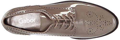 Gabor Shoes - Gabor Fashion 31.410, Stringate da donna Grigio (Grau (fango 90))