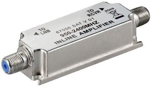 SAT-Inline-Verstärker, IN-LINE, 20dB, Leitungsverstärker 950-2400MHz