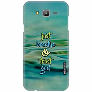 Printland Designer Back Cover for Samsung Galaxy J7 - Just Breathe Case Cover