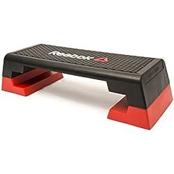 Reebok RSP-16150 Plateforme de Fitness Mixte Adulte, Noir/Rouge