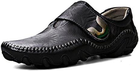 Esthesis Hombre Zapatos de Cuero Genuino Mocasines Breathable Driving Shoes Slip On Mocasines Cómodos