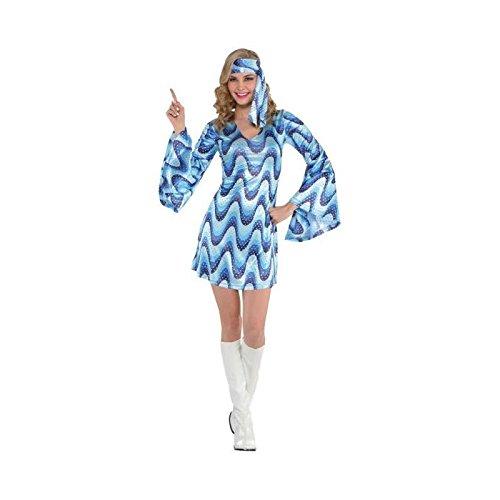Disco Lady Kostüm - Disco Lady Costume Size 10-12
