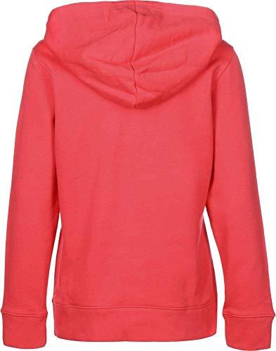 adidas - Trefoil - Sweat-shirt à capuche - Femme - Rose (Core Pink) - FR: 44 (Taille Fabricant: 42)