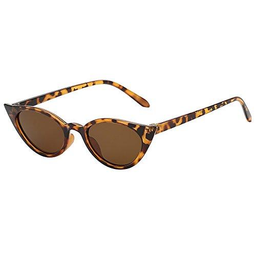 Battnot☀ Sonnenbrille für Damen Herren, Unisex Vintage Katzenaugen Frame Unregelmäßige Rahmen Mode Anti-UV Gläser Schutzbrillen Männer Frauen Retro Billig Cat Eye Sunglasses Women Eyewear Eyeglasses