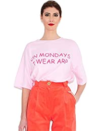 Agatha Ruiz de la Prada Camiseta Rosa Lunes (38)