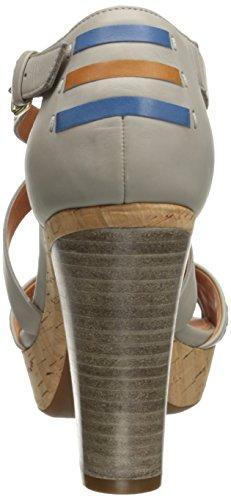 Geox - D Heritage B, Sandales Pour Femmes Gris (gris C1006)