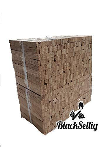 BlackSellig 12 Kg Anfeuerholz perfekt trocken und sauber