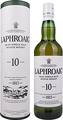 Laphroaig 10 Year Old Islay Single Malt Scotch Whisky 70 cl